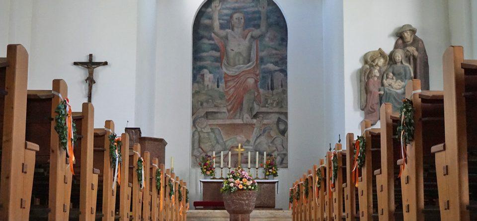 Unsere Kirche ist für Sie da!